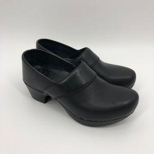Dansko heeled clogs